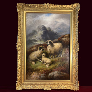 Oil Paintings, Water colours and Engravings
